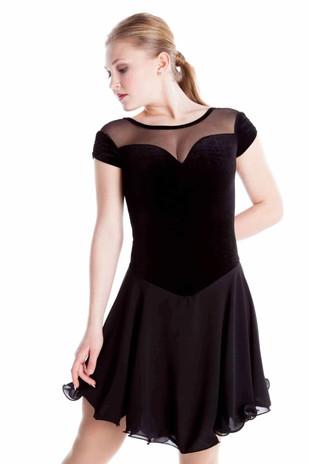 Elite Xpression - Classic Black Dance Dress