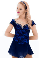 Elite Xpression - Blue Dreamer Beaded Dress