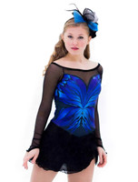 Elite Xpression - Blue Butterfly Dress