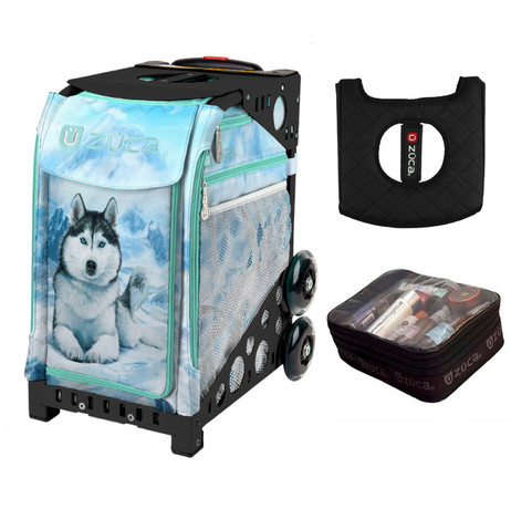 Zuca Husky (with Black Frame) with FREE Seat Cover and Zuca Utility Pouch(Small)