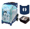 Zuca Husky (with Navy Frame) with FREE Seat Cover and Zuca Utility Pouch(Small)