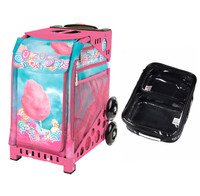 Zuca Sport Bag - Cotton Candy (Pink Frame) with FREE One Large and Two Mini Utility Pouch