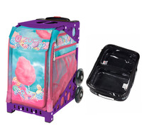 Zuca Sport Bag - Cotton Candy (Purple Frame) with FREE One Large and Two Mini Utility Pouch
