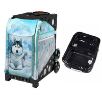 Zuca Sport Bag - Husky (Black Frame) with FREE One Large and Two Mini Utility Pouch