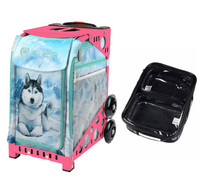 Zuca Sport Bag - Husky (Pink Frame) with FREE One Large and Two Mini Utility Pouch