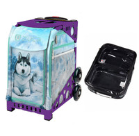 Zuca Sport Bag - Husky (Purple Frame) with FREE One Large and Two Mini Utility Pouch