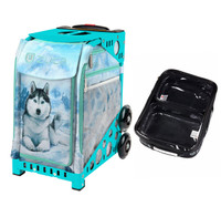 Zuca Sport Bag - Husky (Turquoise Frame) with FREE One Large and Two Mini Utility Pouch