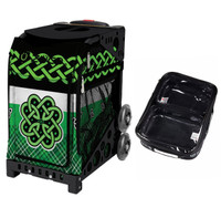 Zuca Sport Bag - Celtic Spirit with FREE One Large and Two Mini Utility Pouch