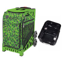 Zuca Sport Bag - Green Screen with FREE One Large and Two Mini Utility Pouch