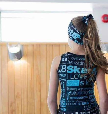 Elite Xpression - Headband - Blue SK8