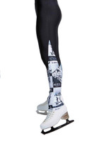 Elite Xpression - 4EVER Leg Warmer Style Legging - Black