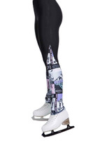 Elite Xpression - 4EVER leg warmer style legging - Multi