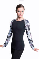 Elite Xpression - 4EVER Multicolored Xpression Top (C121)