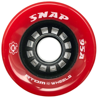 Jackson Atom Wheels - Snap Red