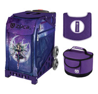 Zuca Fairy Dust bag with Purple Frame + FREE Lunchbox and Seat Cover