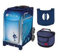 Zuca Roller Dreamz Bag with Navy Frame + FREE Lunchbox and Seat Cover