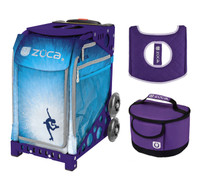 Zuca Roller Dreamz bag with Purple Frame + FREE Lunchbox and Seat Cover