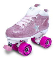 Sure-Grip Quad Roller Skates - ROCK STAR