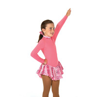 Jerry's Ice Skating Dress   - 20 Fancy Fleece  - Clear Pink