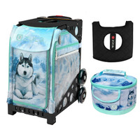 Zuca Sport Bag -  Husky with FREE Lunchbox and Seat Cover (Black Frame)