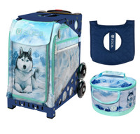 Zuca Sport Bag -  Husky with FREE Lunchbox and Seat Cover (Navy Frame)