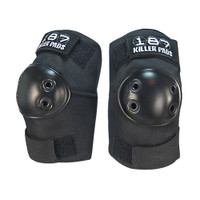 187 Killer Pads Elbow Pads - Black