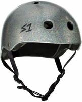S1 Lifer Helmet - Silver Gloss Glitter