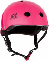 S1 Mini Lifer Helmet - Hot Pink Gloss