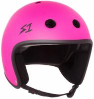 S1 Retro Lifer Helmet - Neon Pink Matte