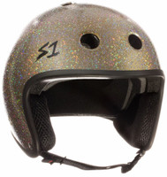 S1 Retro Lifer Helmet - Gold Gloss Glitter