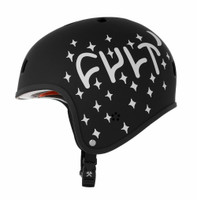 S1 Retro Lifer Helmet - Cult Collaboration Black Matte