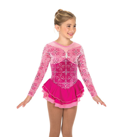 Jerry's Ice Skating  Dress - 162 Rembrandt Rose Dress