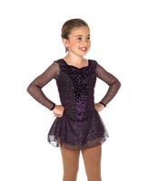 Jerry's Ice Skating  Dress - 185 Night Violet Dress