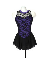Jerry's Ice Skating  Dress - 275 Overlace Dress - Purple