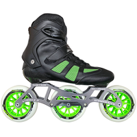 Atom Pro Fitness 3x110 Outdoor Inline Skate Package