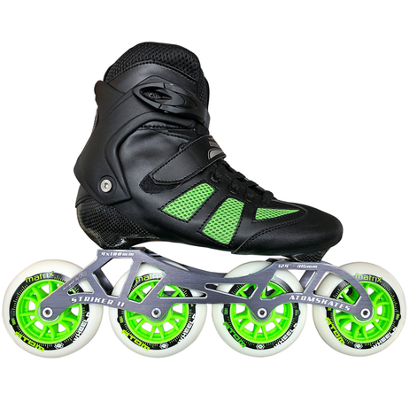 Atom Pro Fitness 4x100 Outdoor Inline Skate Package