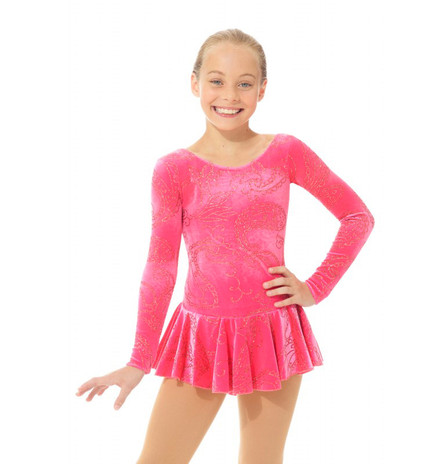 Mondor Born to Skate Glitter Figure Skating Dress 2723 - Indy Rose