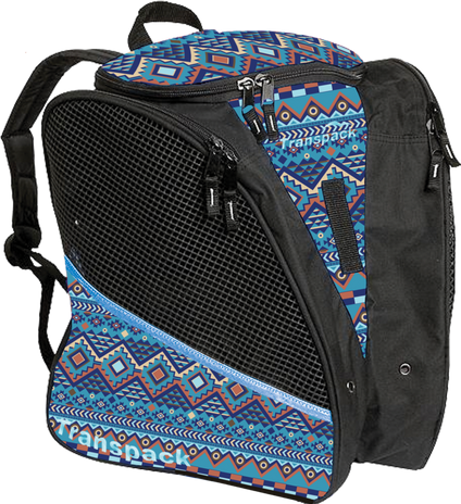 Transpack Ice with Print Design (Blue Aztec)