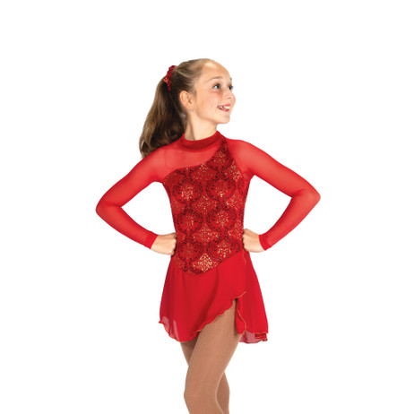 Jerry's Ice Skating Dress   - 09 Richesse in Red