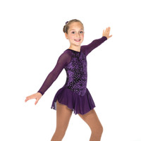 Jerry's Ice Skating Dress   - 11 Diamond Chips (Deep Purple)
