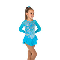 Jerry's Ice Skating Dress   - 13 Princess (Sky Blue)