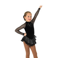 Jerry's Ice Skating Dress   - 19 Starshine (Black)