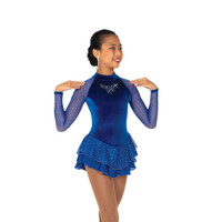 Jerry's Ice Skating Dress   - 19 Starshine (Royal Blue)