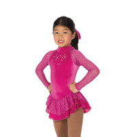 Jerry's Ice Skating Dress   - 19 Starshine (Deep Fuchsia)