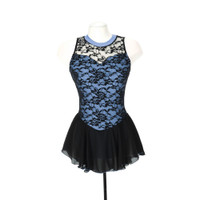 Jerry's Ice Skating Dress   - 275 Overlace (Steel Blue)