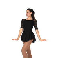 Jerry's Ice Skating Dress   - 279 Flora Lace (Black)