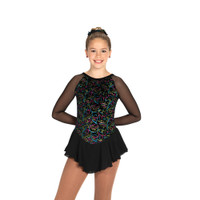 Jerry's Ice Skating Dress   - 421 Sizzle & Twizzle (Black Twizzle)