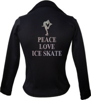 Kami-So Polartec Ice Skating Jacket - Peace Love Ice Skate