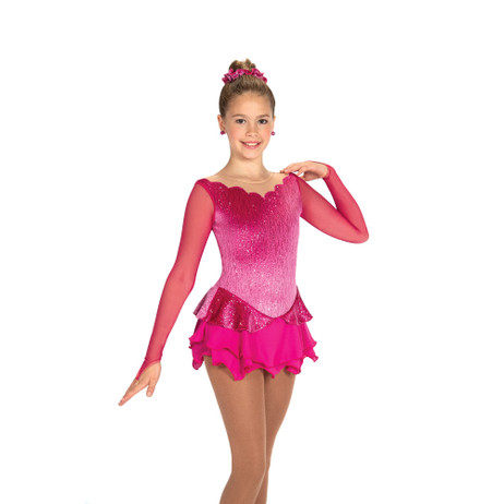 Jerry's Ice Skating Dress   - 442 Peony Petals