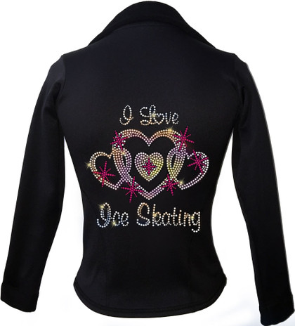 Kami-So Polartec Ice Skating Jacket - I Love Skating